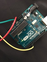 Close up of Arduino
